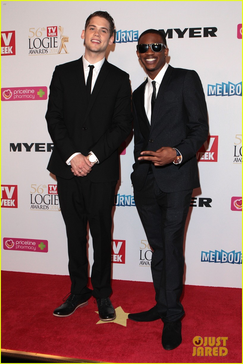 ed sheeran jason derulo down under logie awards 2014 053100299