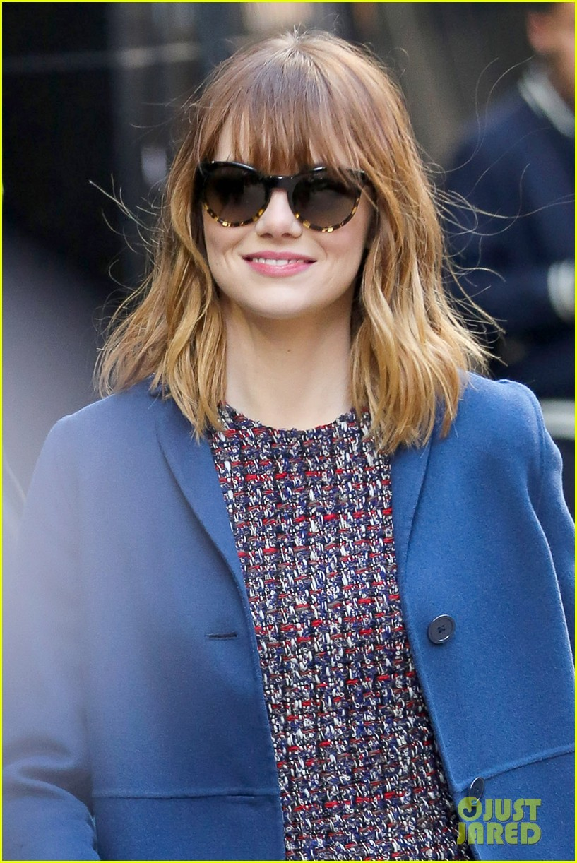 emma stone andrew garfield join amazing spider man 2 cast at gma 023098190
