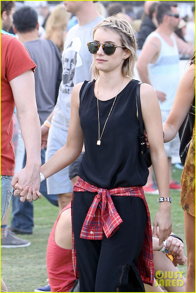 emma roberts evan peters inseparable coachella 2014 03
