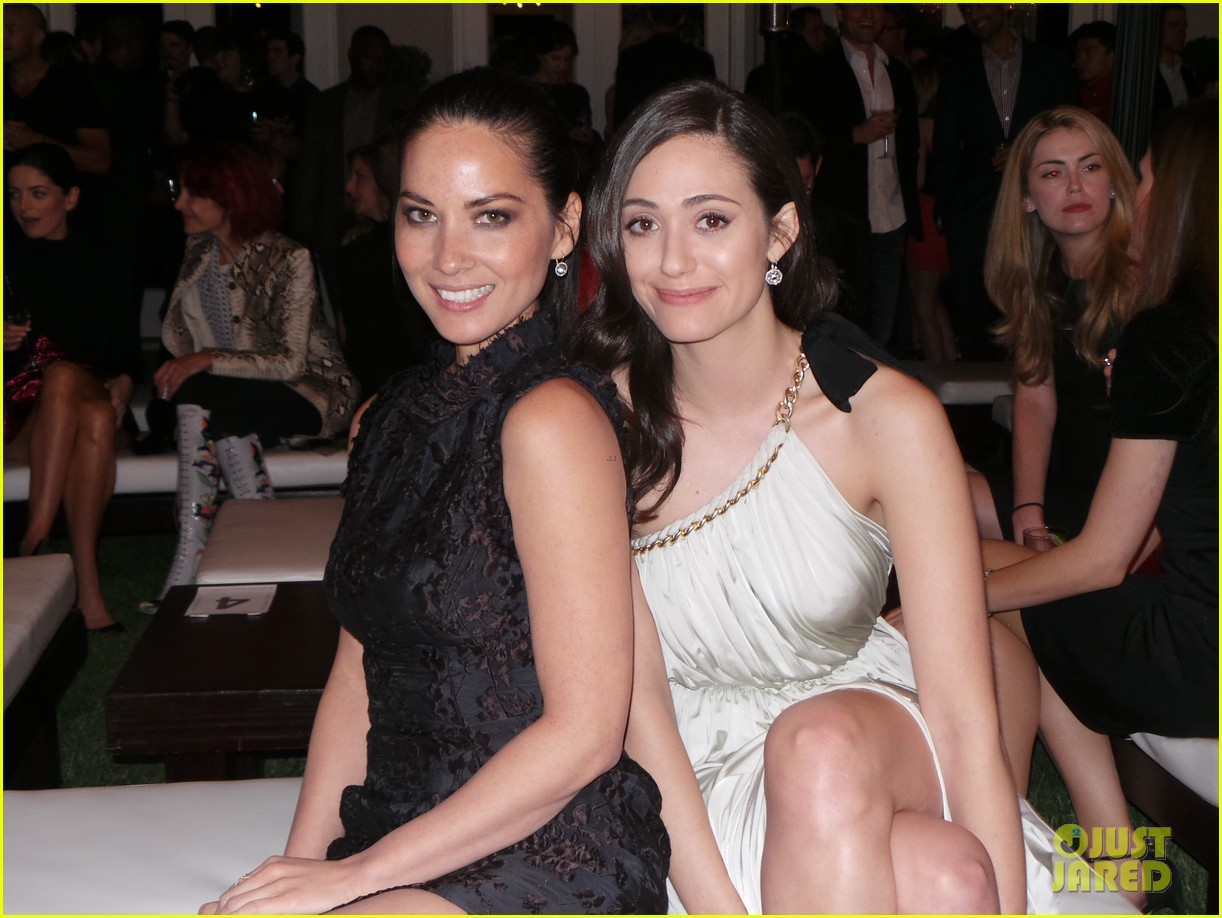 emmy rossum olivia munn lanvin living beauty evening fashion 063100145