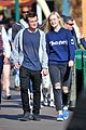 elle fanning boyfriend hold hands at disneyland 03