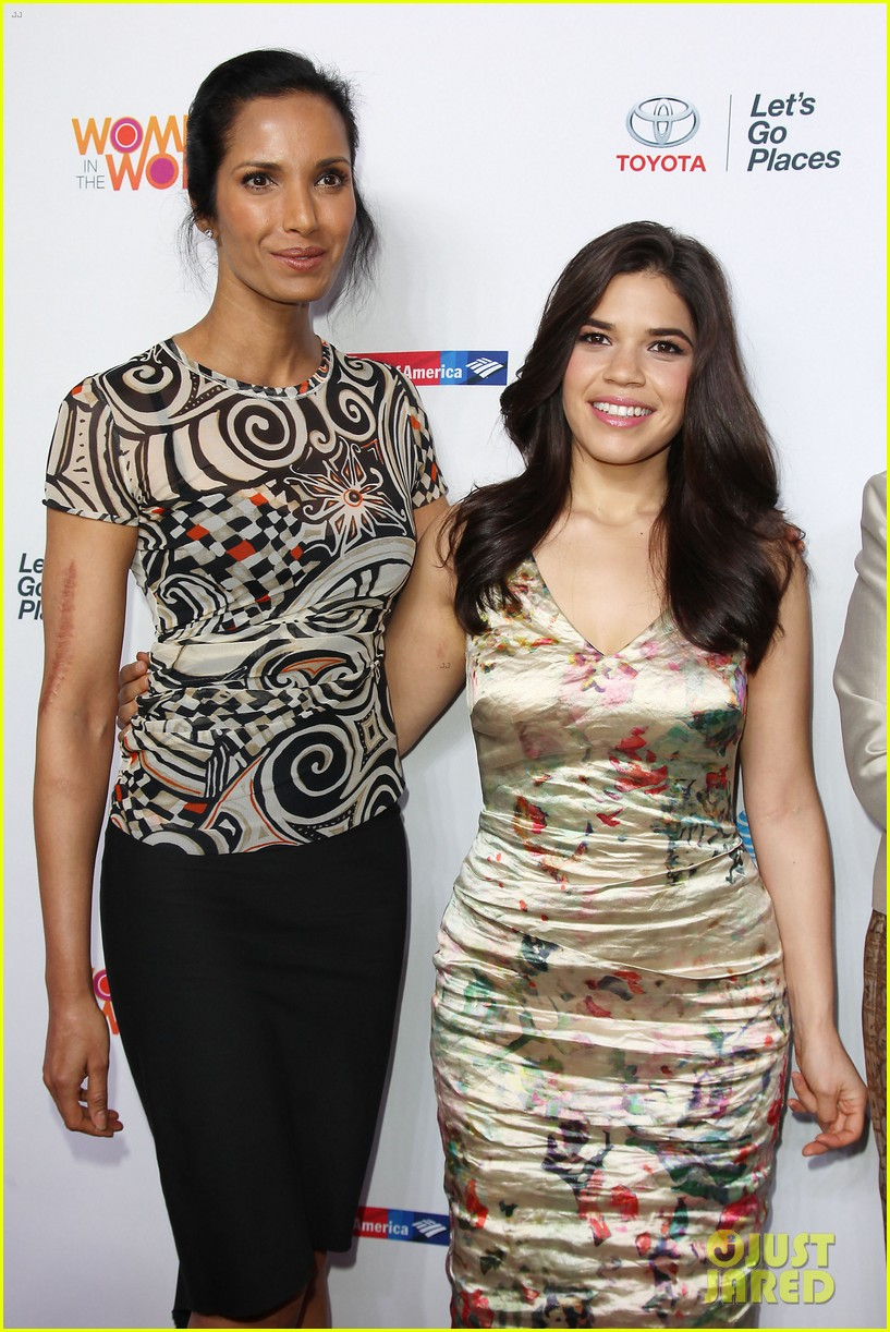 america ferrera coco rocha women in the world summit 2014 02