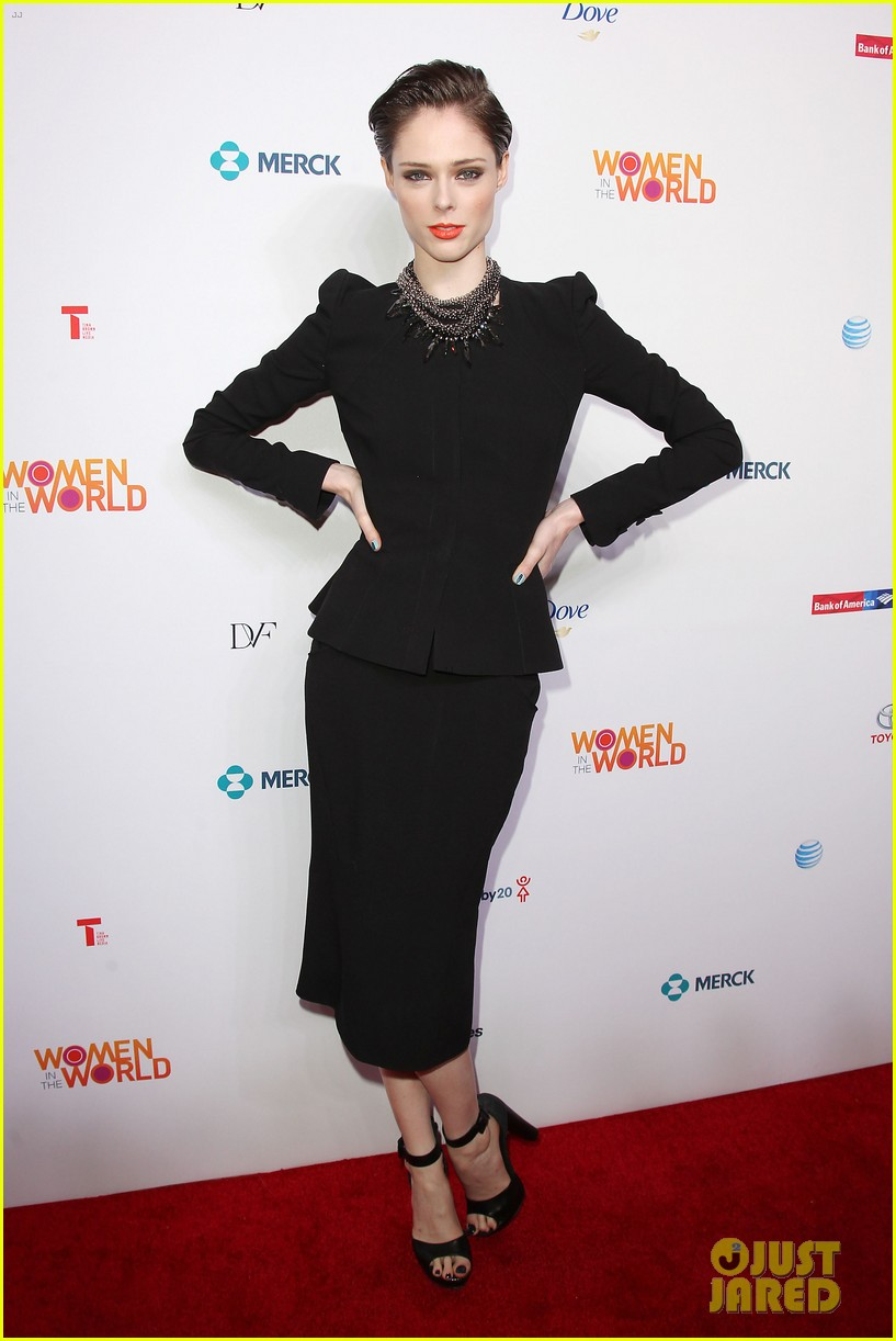 america ferrera coco rocha women in the world summit 2014 033084426