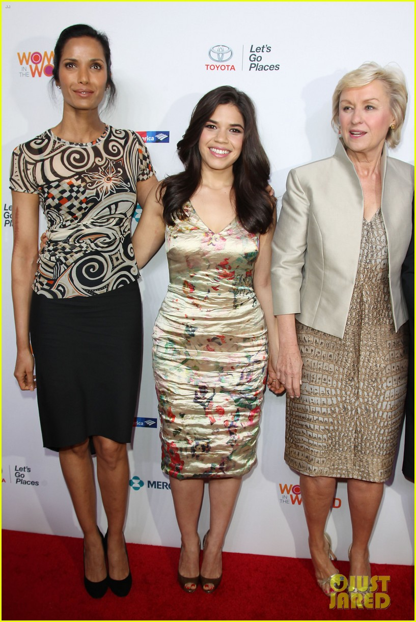 america ferrera coco rocha women in the world summit 2014 083084431