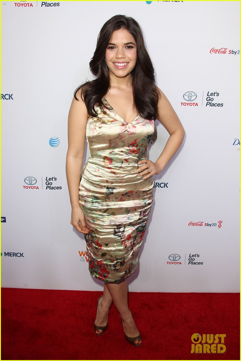 america ferrera coco rocha women in the world summit 2014 283084451