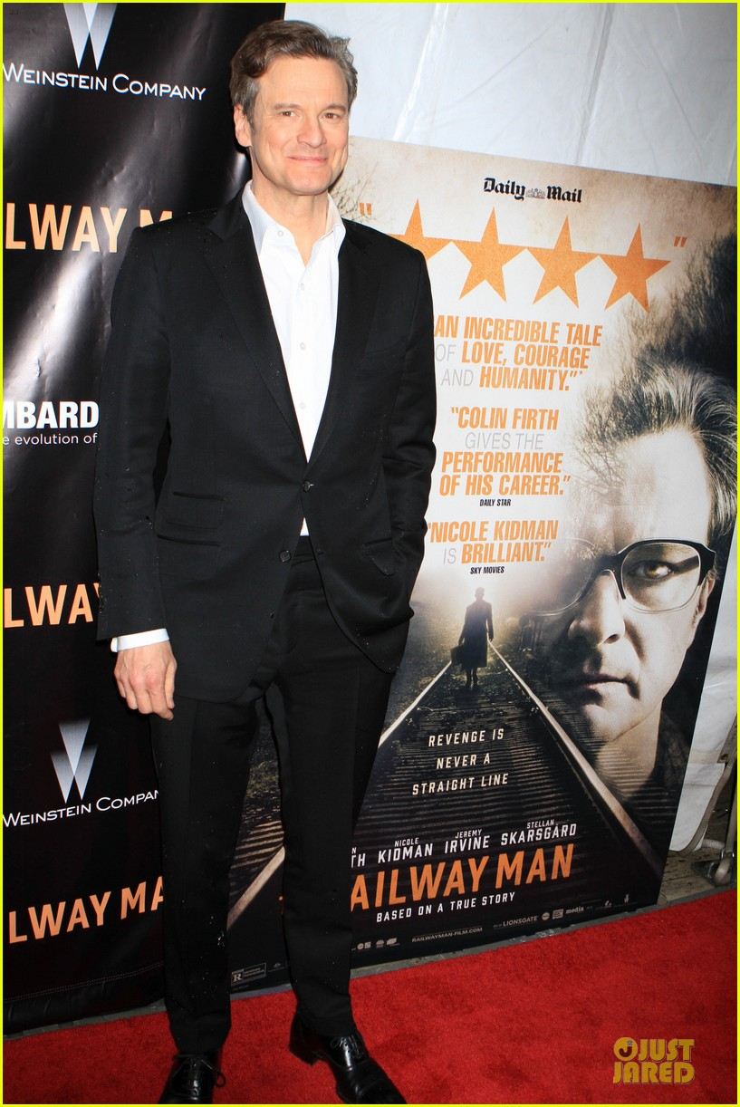 colin firth jeremy irvine railway man to nyc 013086751