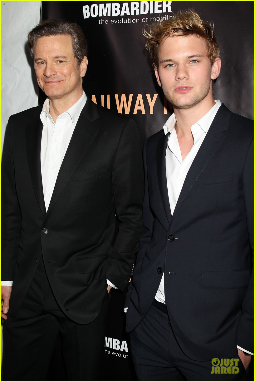 colin firth jeremy irvine railway man to nyc 023086752