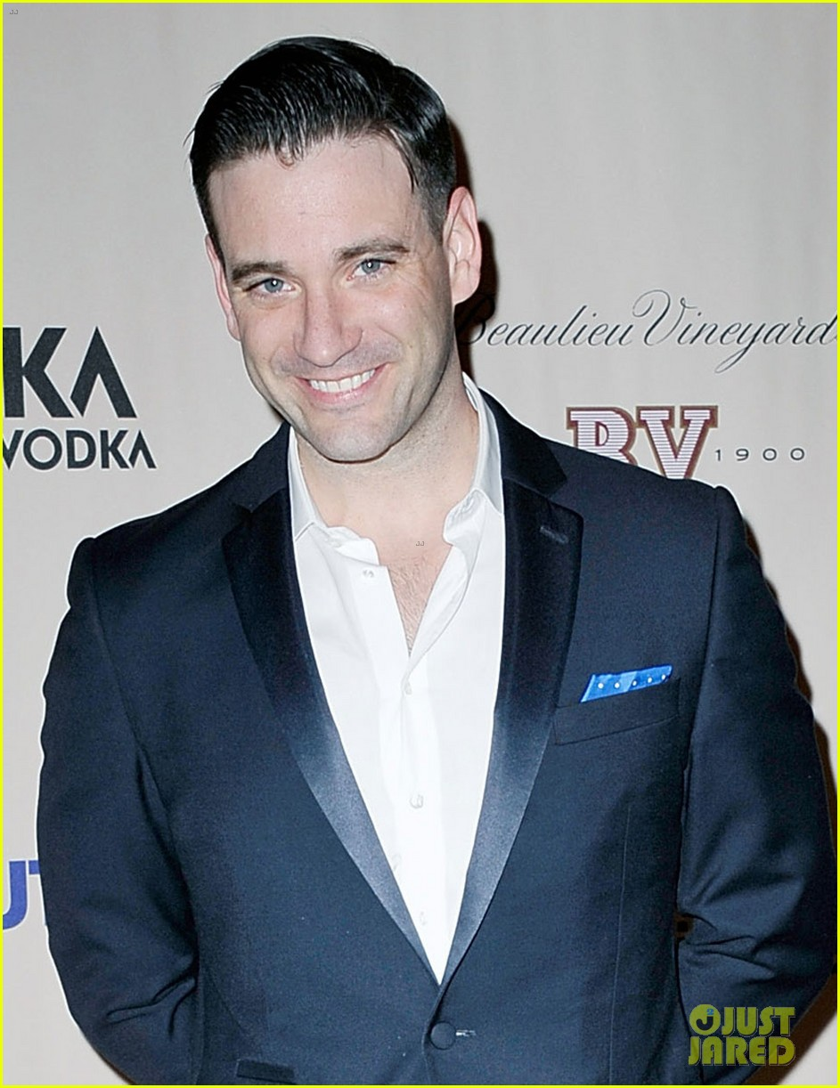 sutton foster colin donnell violet opening night 05
