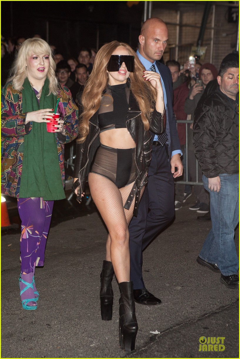 lady gaga revealing high waisted outfit 043082611