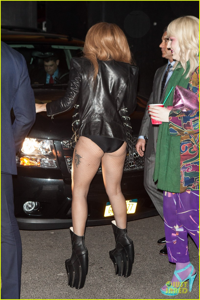 lady gaga revealing high waisted outfit 103082617