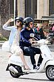andrew garfield emma stone romantic vespa ride 06