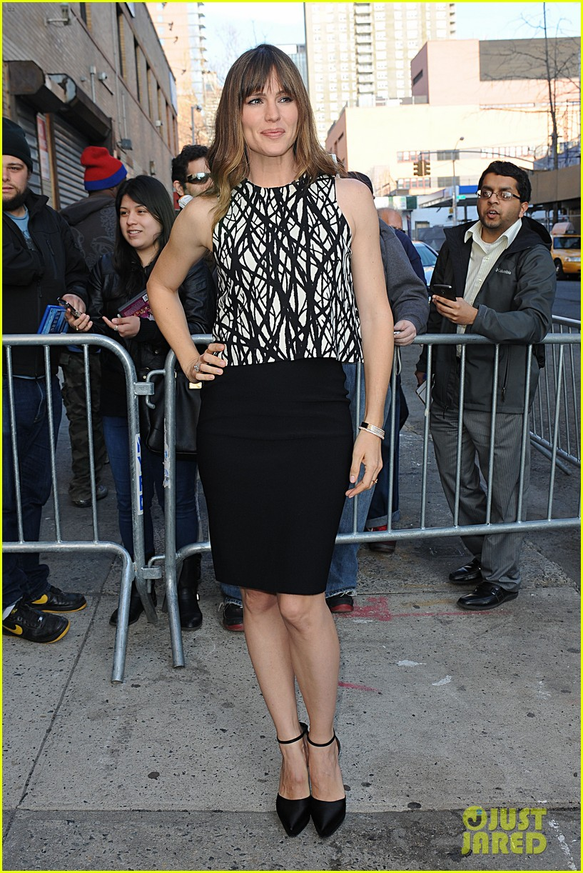 jennifer garner tom welling draft day new york city 093088650