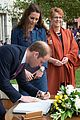 prince george makes appearance parents play with puppies 26