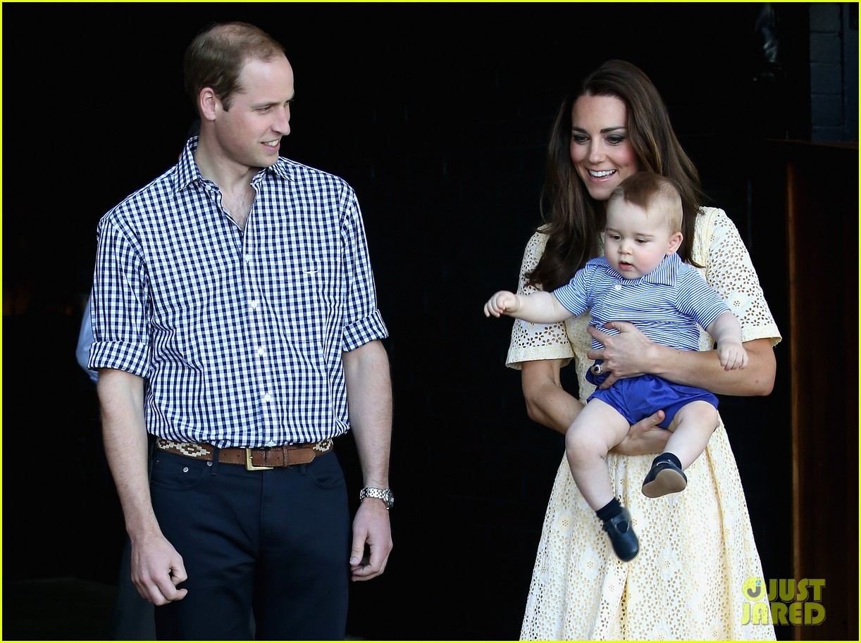 prince george goes to the zoo kate middleton prince william 043095505