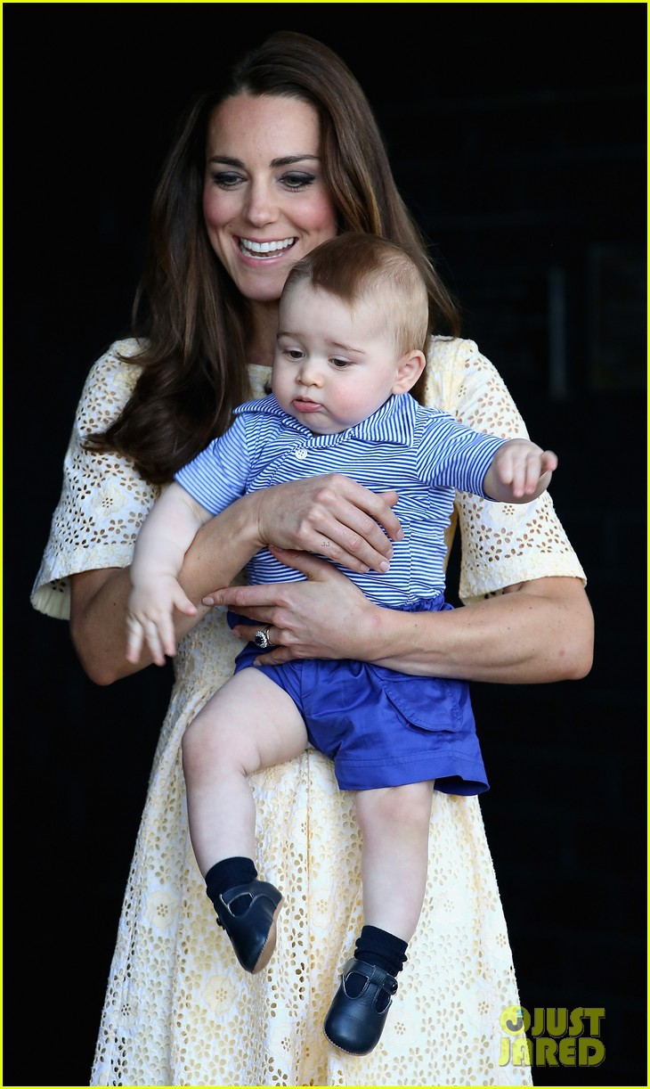 prince george goes to the zoo kate middleton prince william 063095507