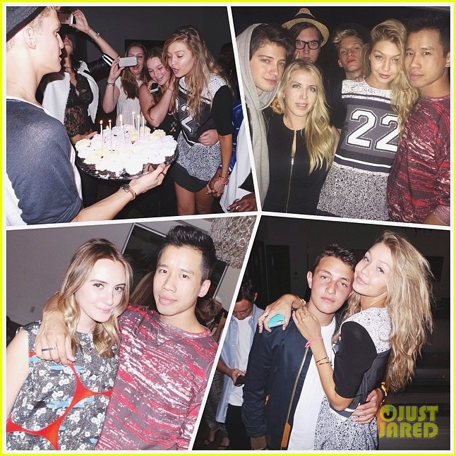 gigi hadid 19th birthday party pictures 103100889