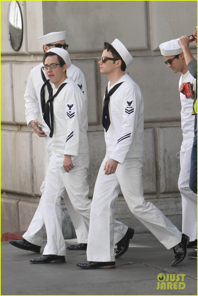 glee guys transform into super hot sailors check out their vintage fleet week looks 083083311