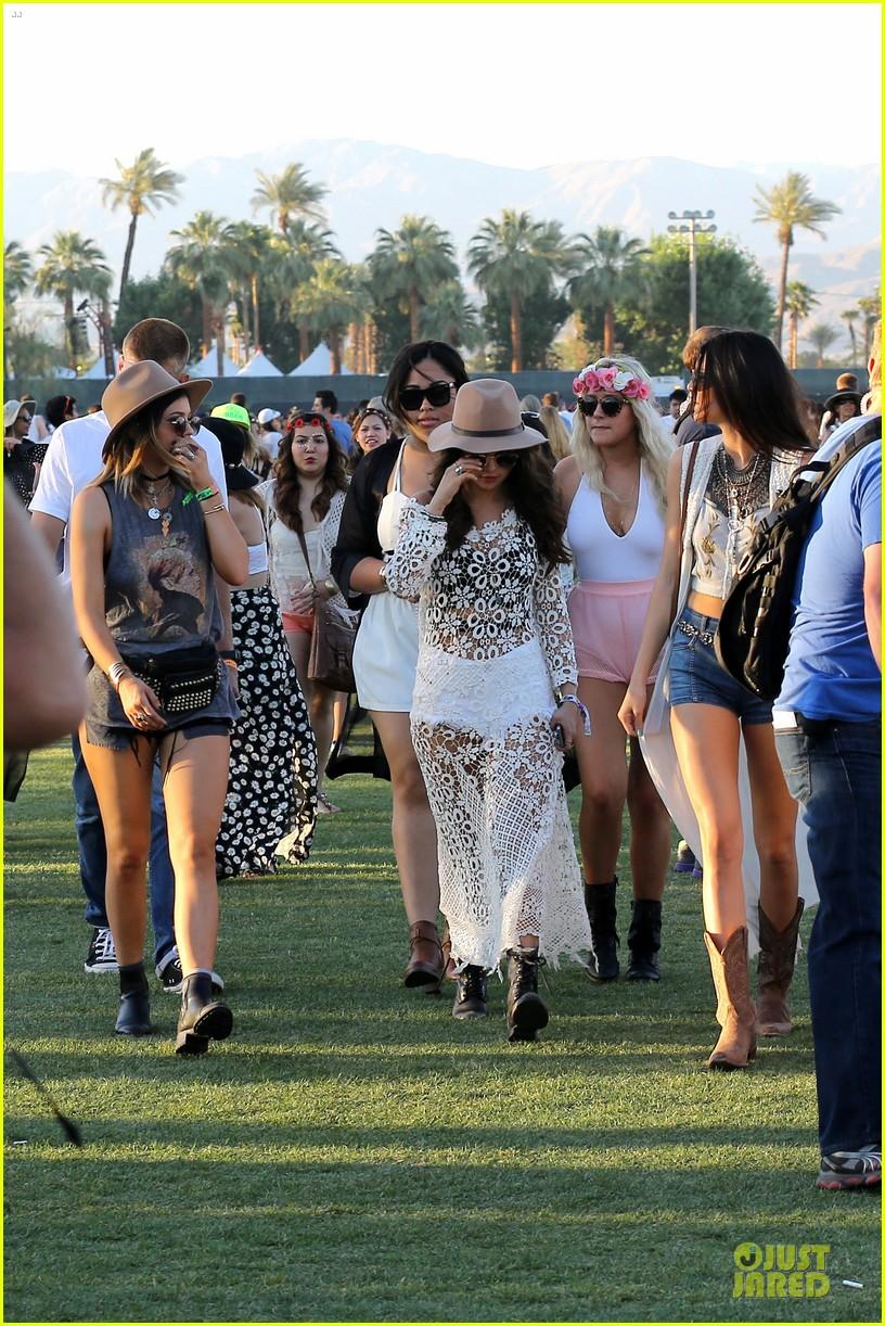 selena gomez bra sheer dress at coachella 01