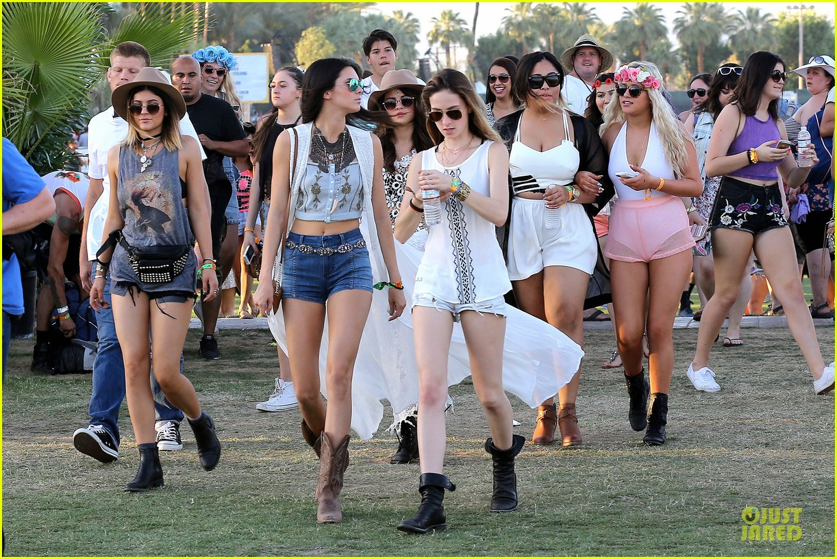 selena gomez bra sheer dress at coachella 023089449