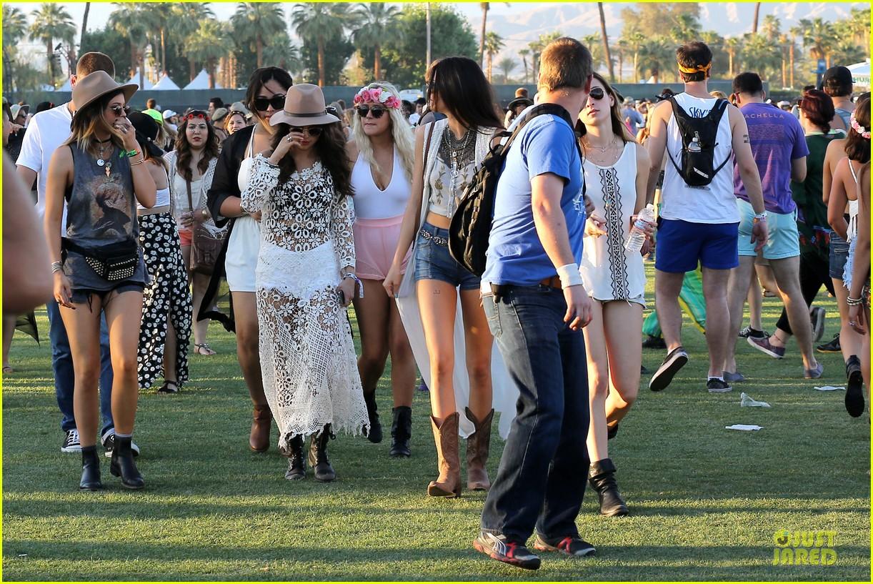 selena gomez bra sheer dress at coachella 133089460