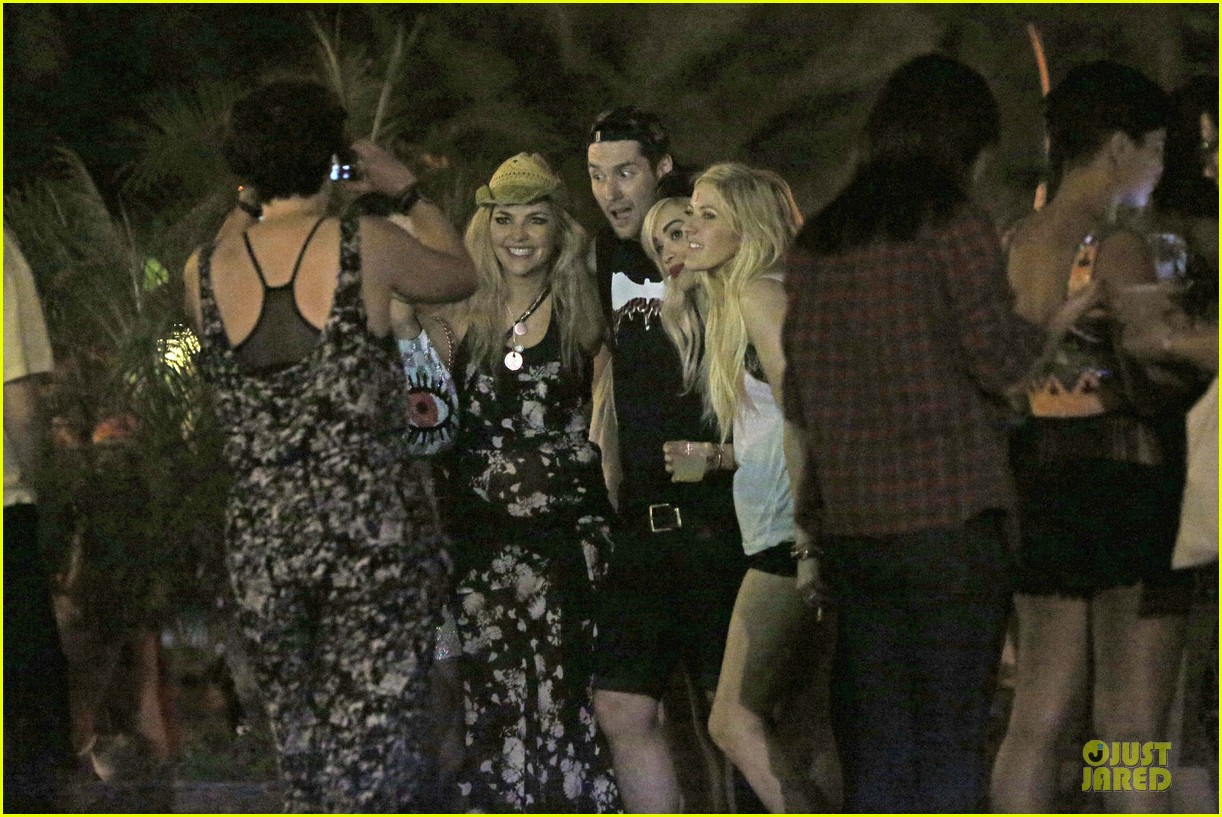 ellie goulding rita ora hang out at coachella 24