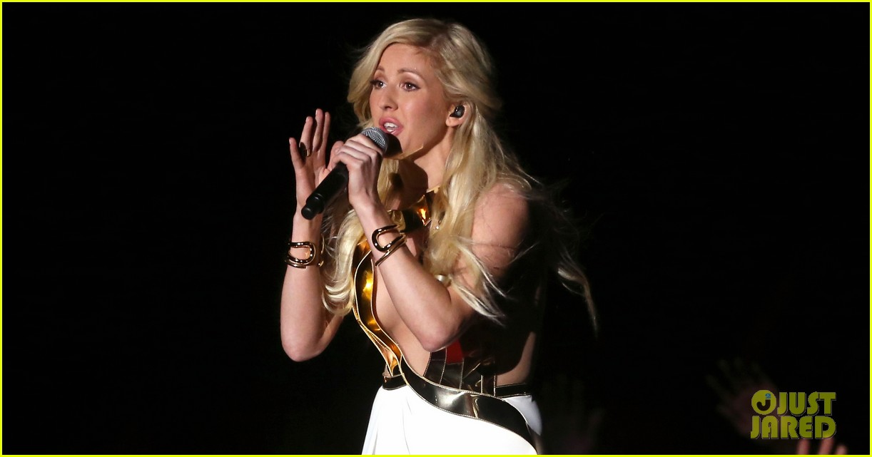 ellie goulding performs beating heart at mtv movie awards 2014 video 023091442