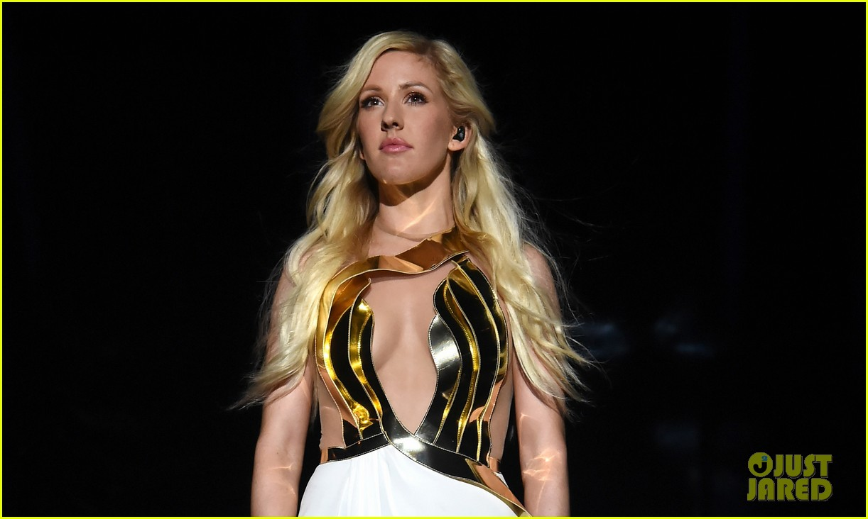 ellie goulding performs beating heart at mtv movie awards 2014 video 053091445