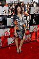 kat graham printed beauty at mtv movie awards 2014 red carpet 02