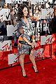 kat graham printed beauty at mtv movie awards 2014 red carpet 05