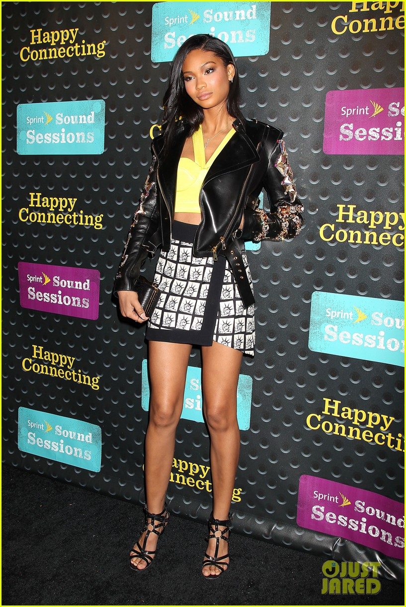 kat graham chanel iman are treated to the sound of pharrell 063102141