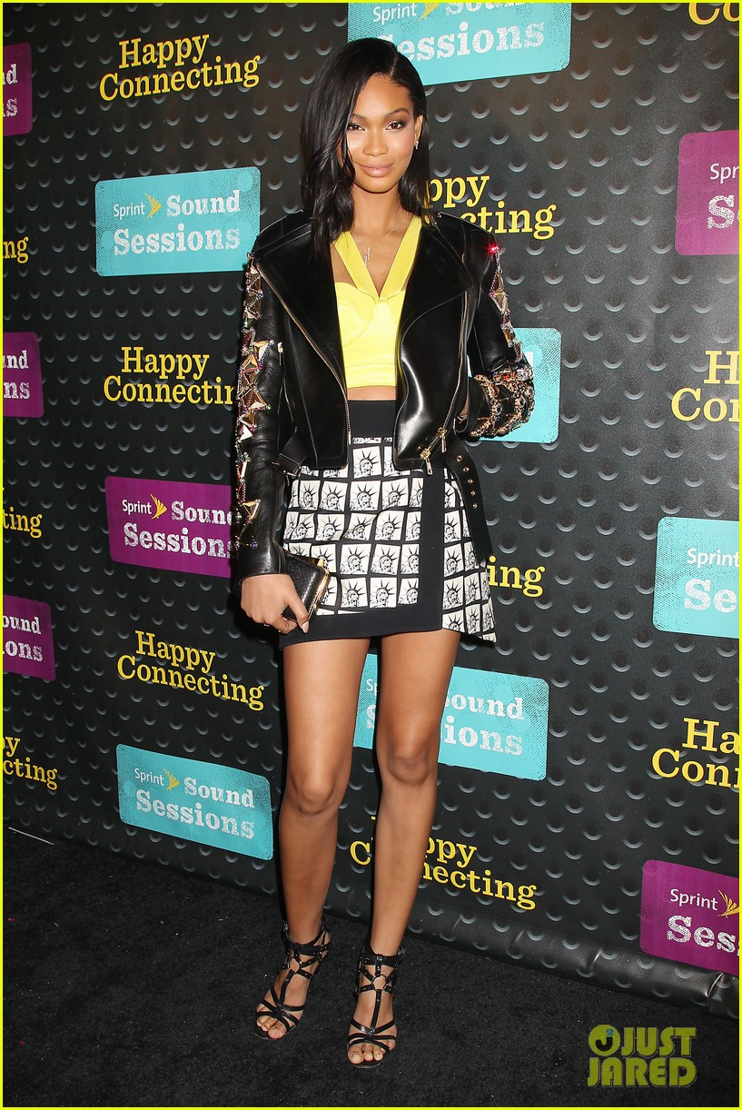 kat graham chanel iman are treated to the sound of pharrell 073102142
