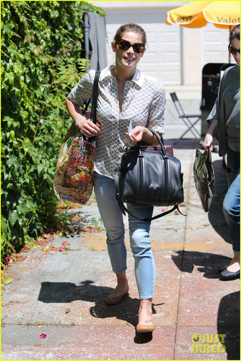 ashley greene spends weekend with mother michele 023100663