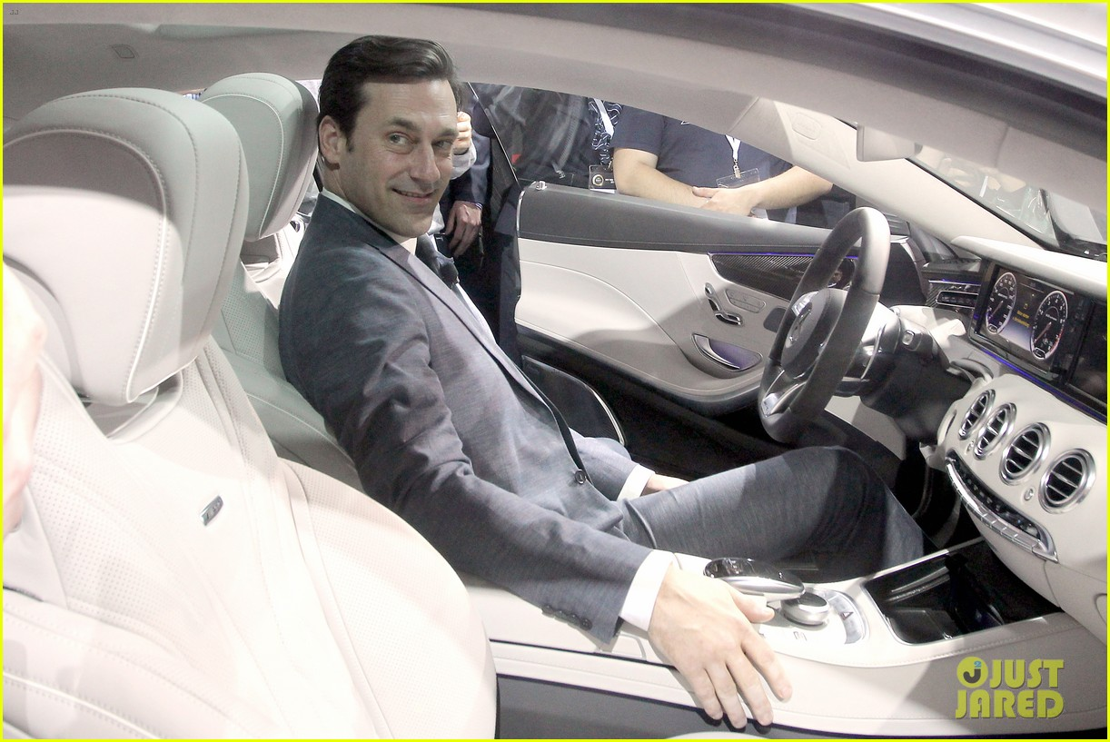 jon hamm debuts the mercedes benz s63 amg coupe 053093779