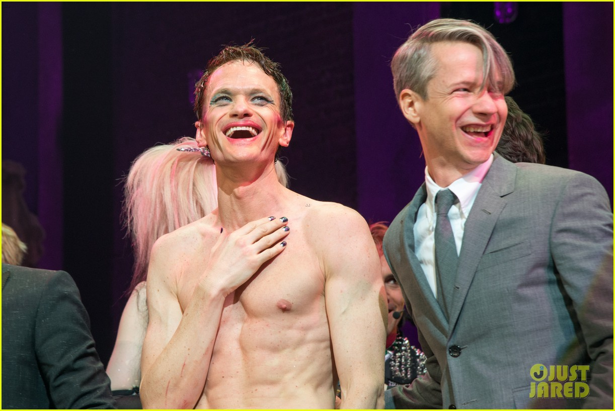 neil patrick harris opening night of hedwig and the angry inch opening 073097417