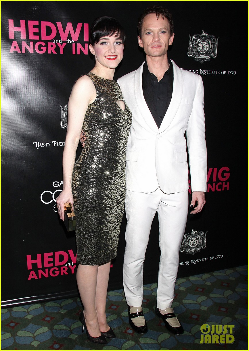 neil patrick harris opening night of hedwig and the angry inch opening 083097418