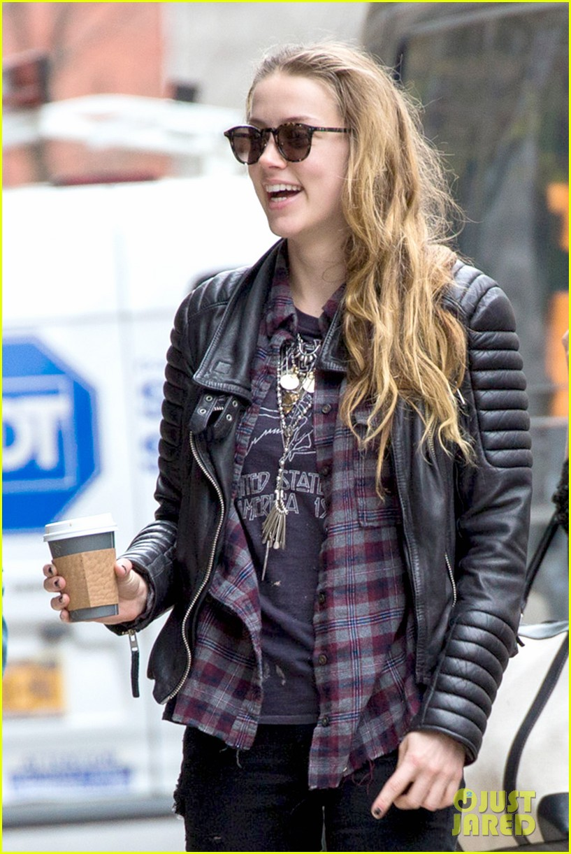 amber heard is still beaming after her birthday 133097636