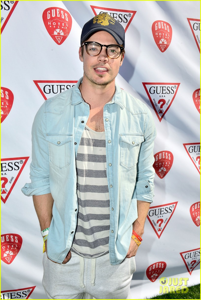 josh henderson jamie chung party with guess at coachella 053092213
