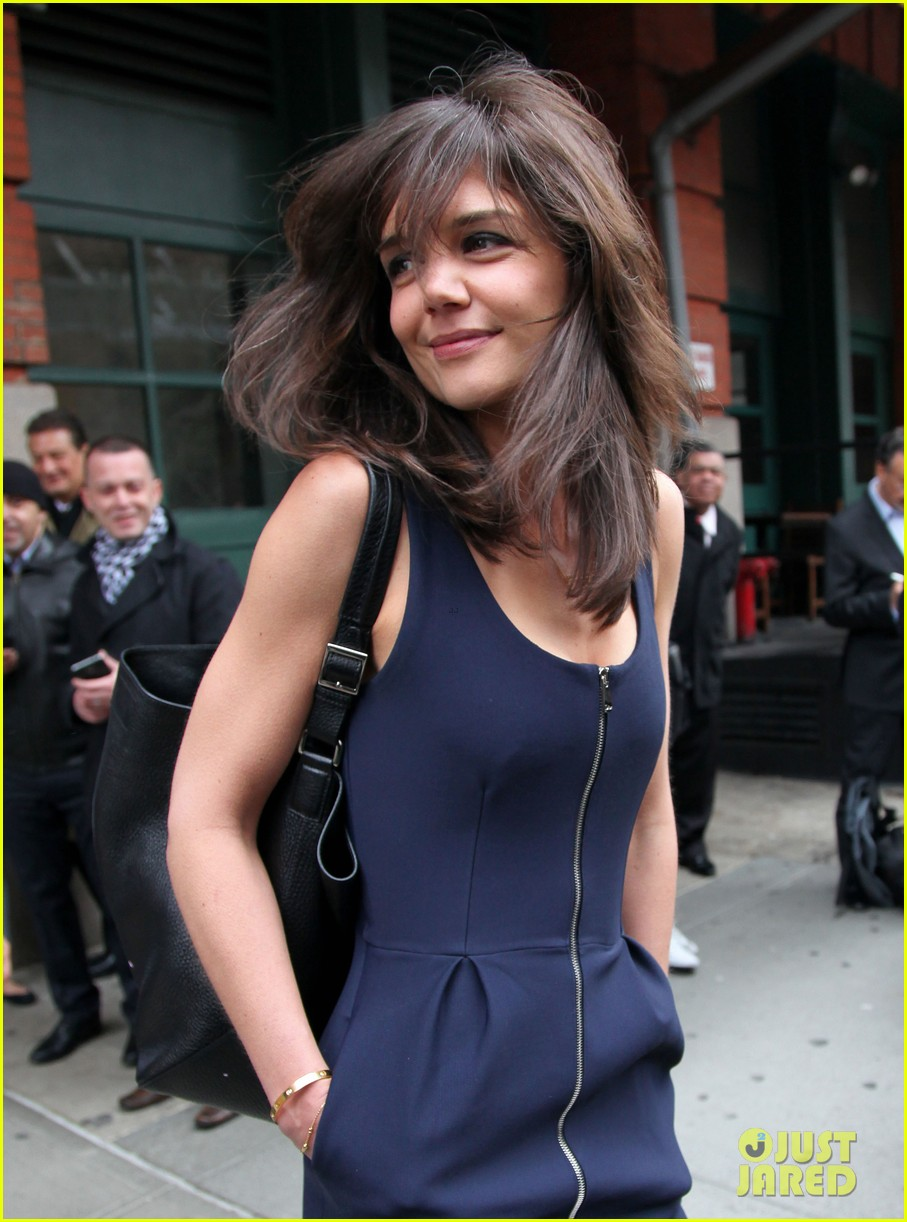 katie holmes paul wesley help kick off tribeca film fest 023094039