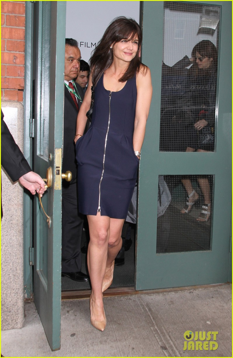 katie holmes paul wesley help kick off tribeca film fest 133094050