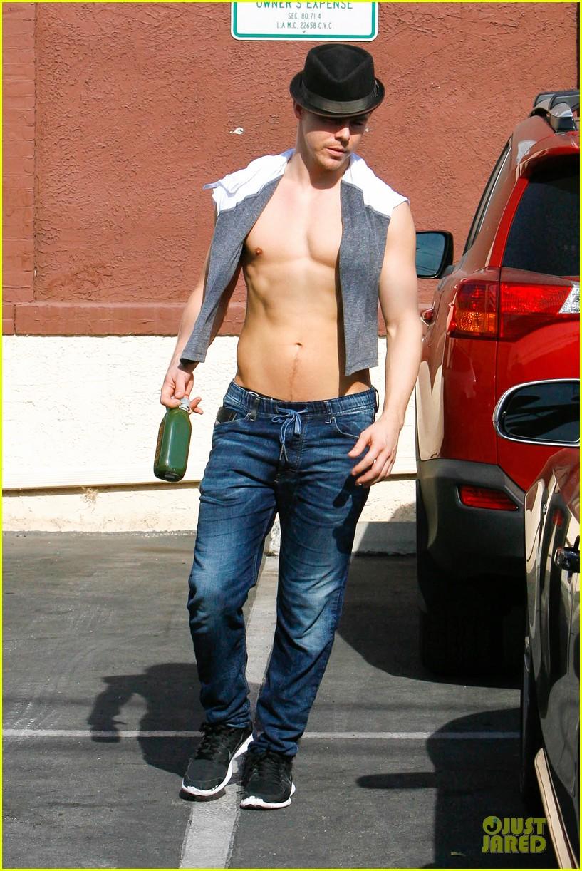 derek hough shirtless body reason why you should dance 053095129