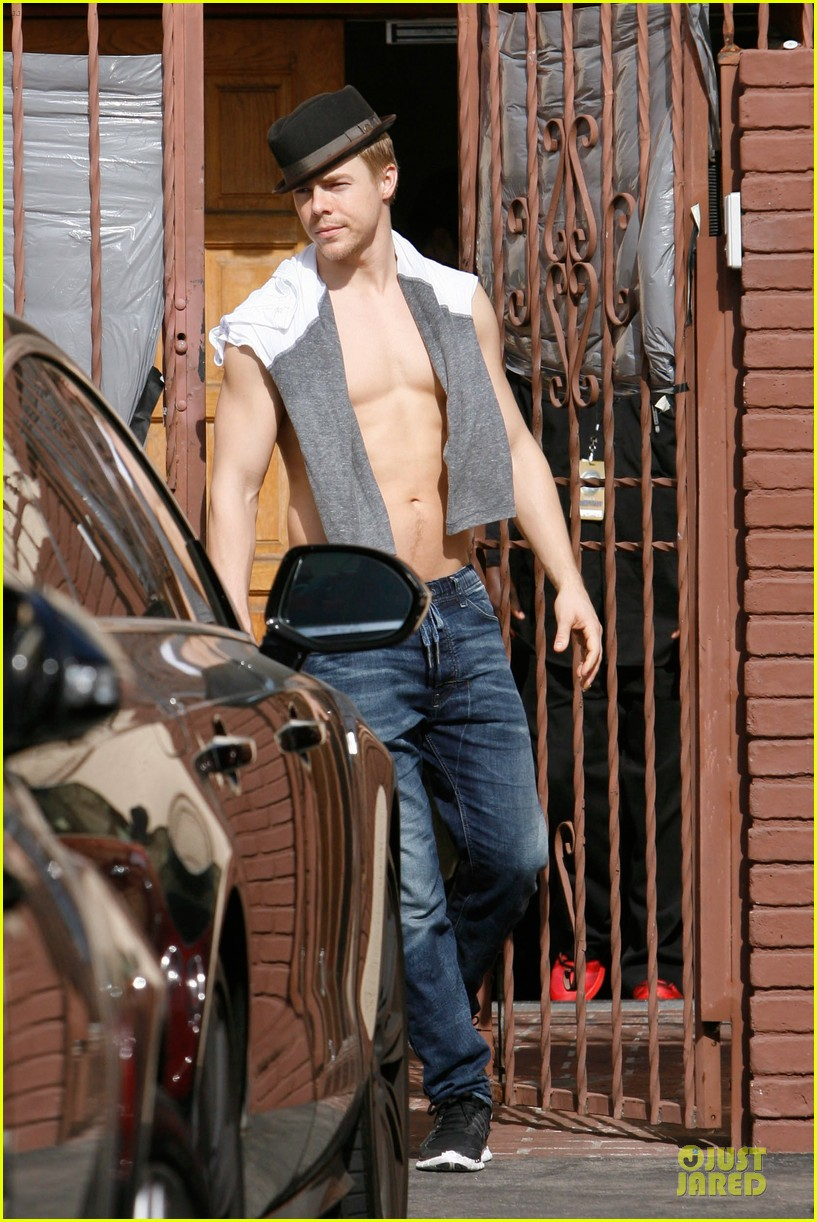 derek hough shirtless body reason why you should dance 113095135