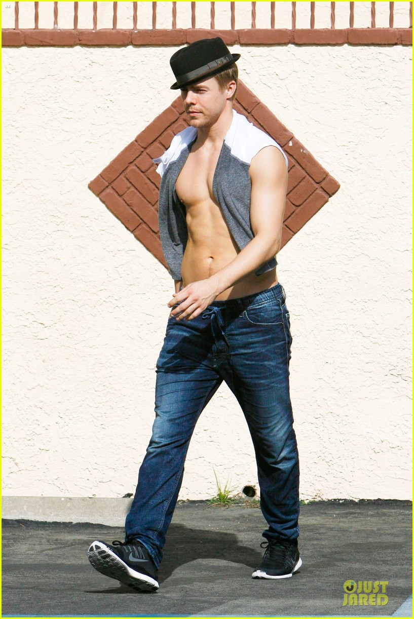 derek hough shirtless body reason why you should dance 123095136