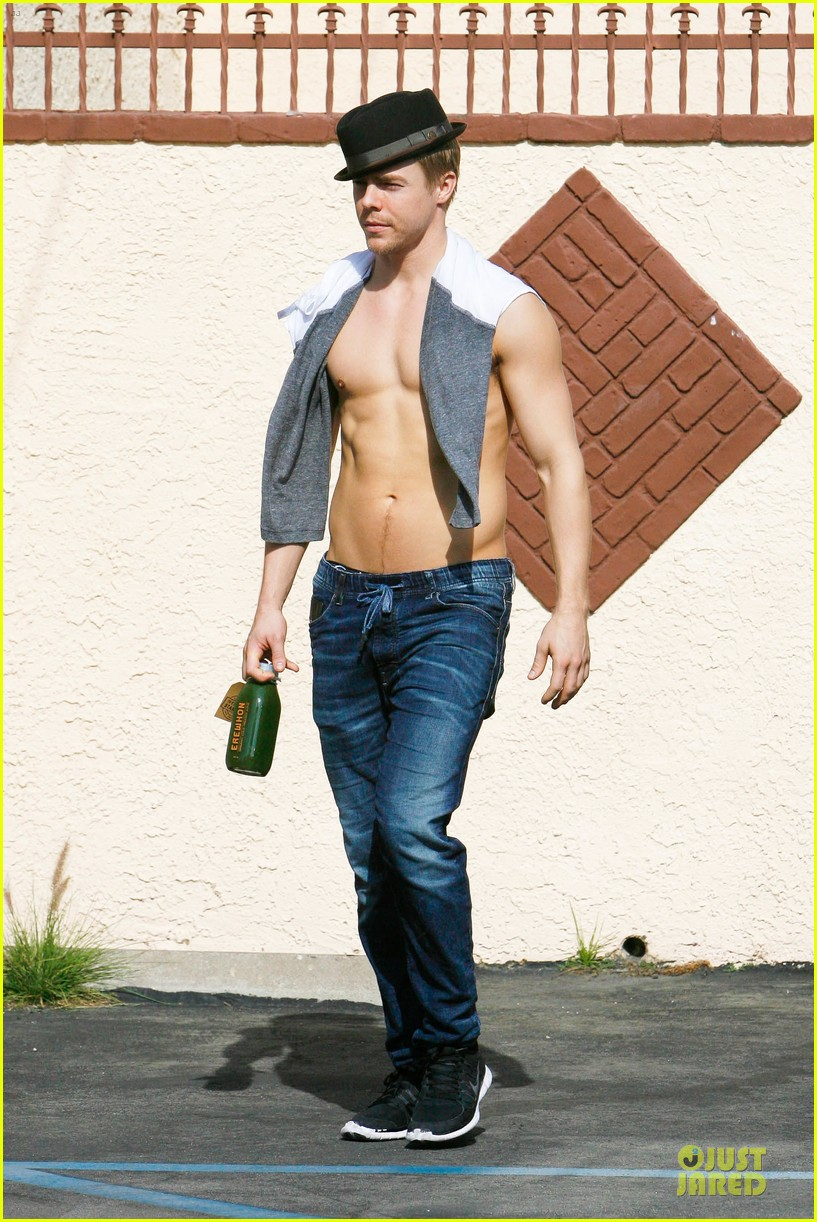 derek hough shirtless body reason why you should dance 173095141