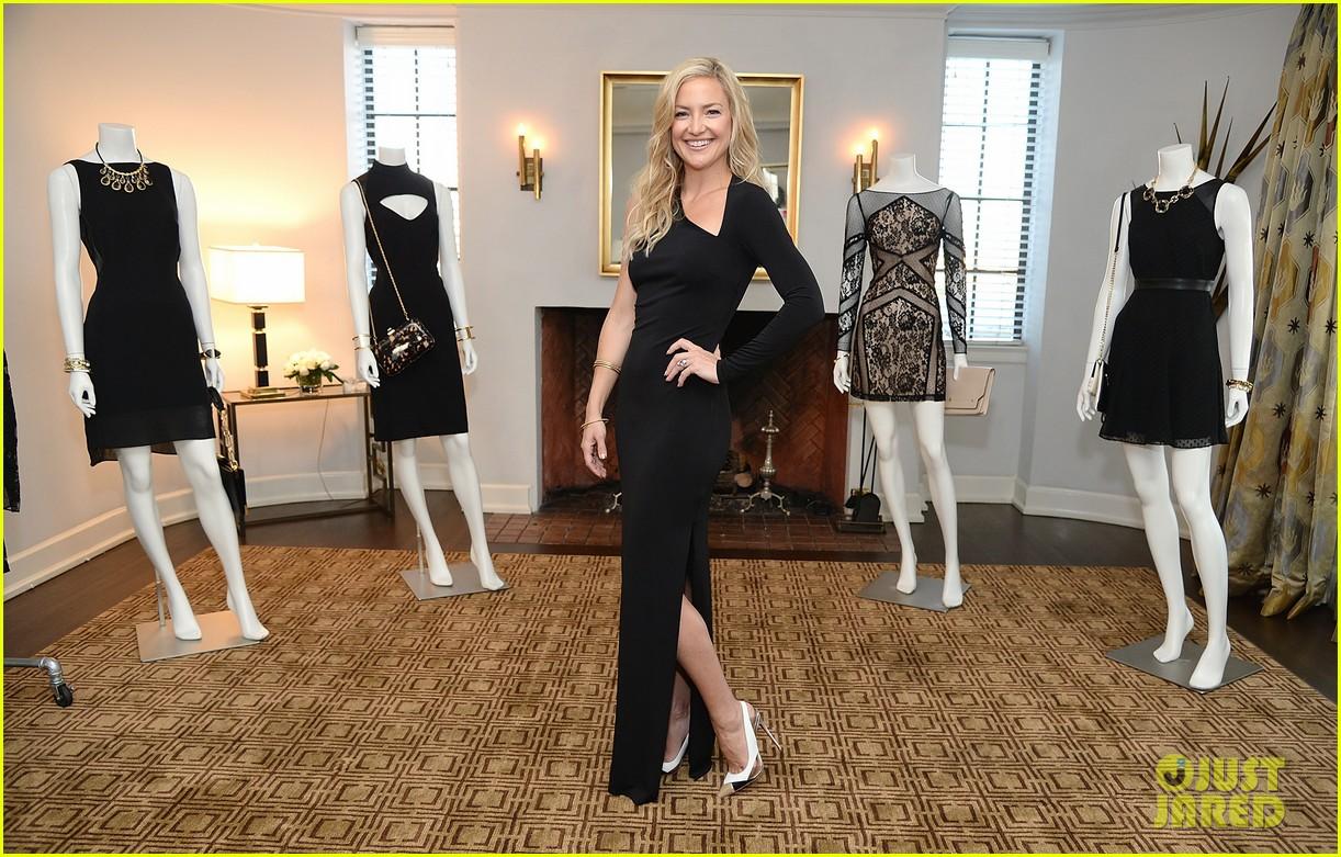 kate hudson sleek chic for anne taylor little black dress collection 083087505