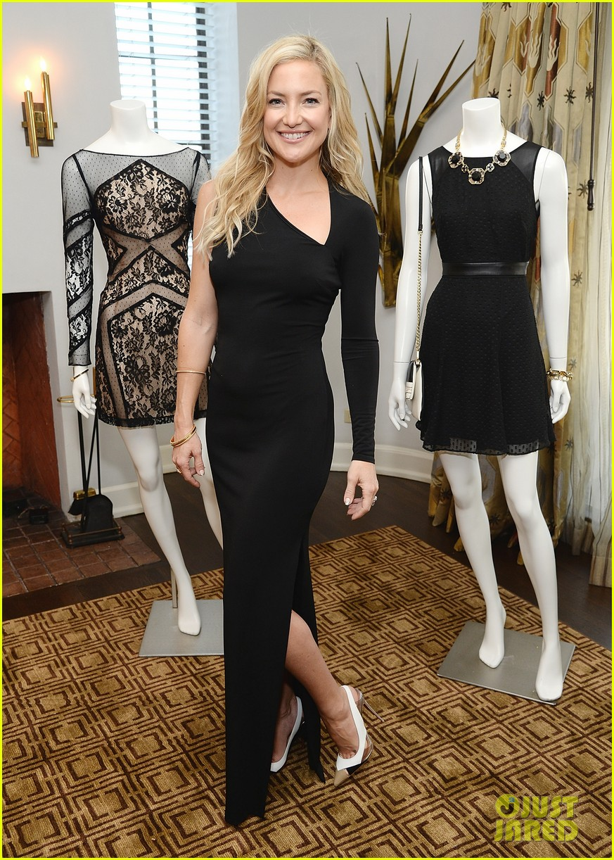 kate hudson sleek chic for anne taylor little black dress collection 133087510