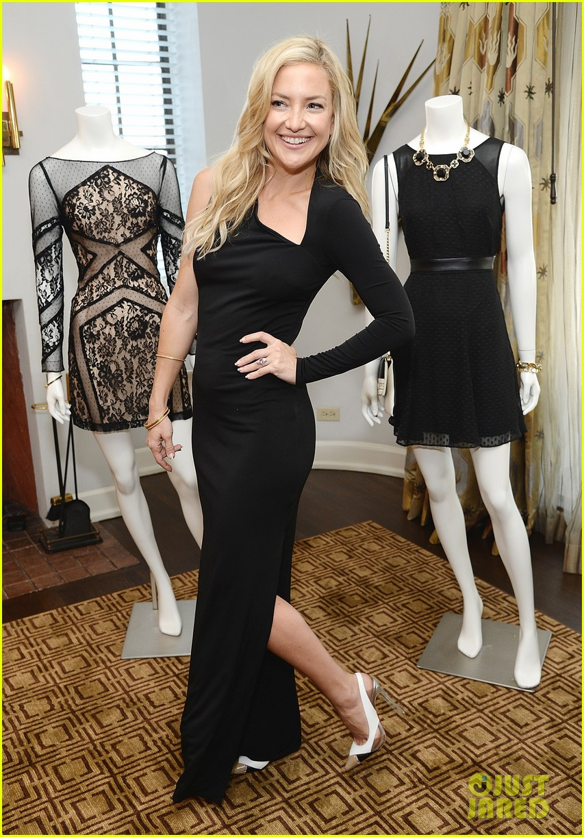 kate hudson sleek chic for anne taylor little black dress collection 15