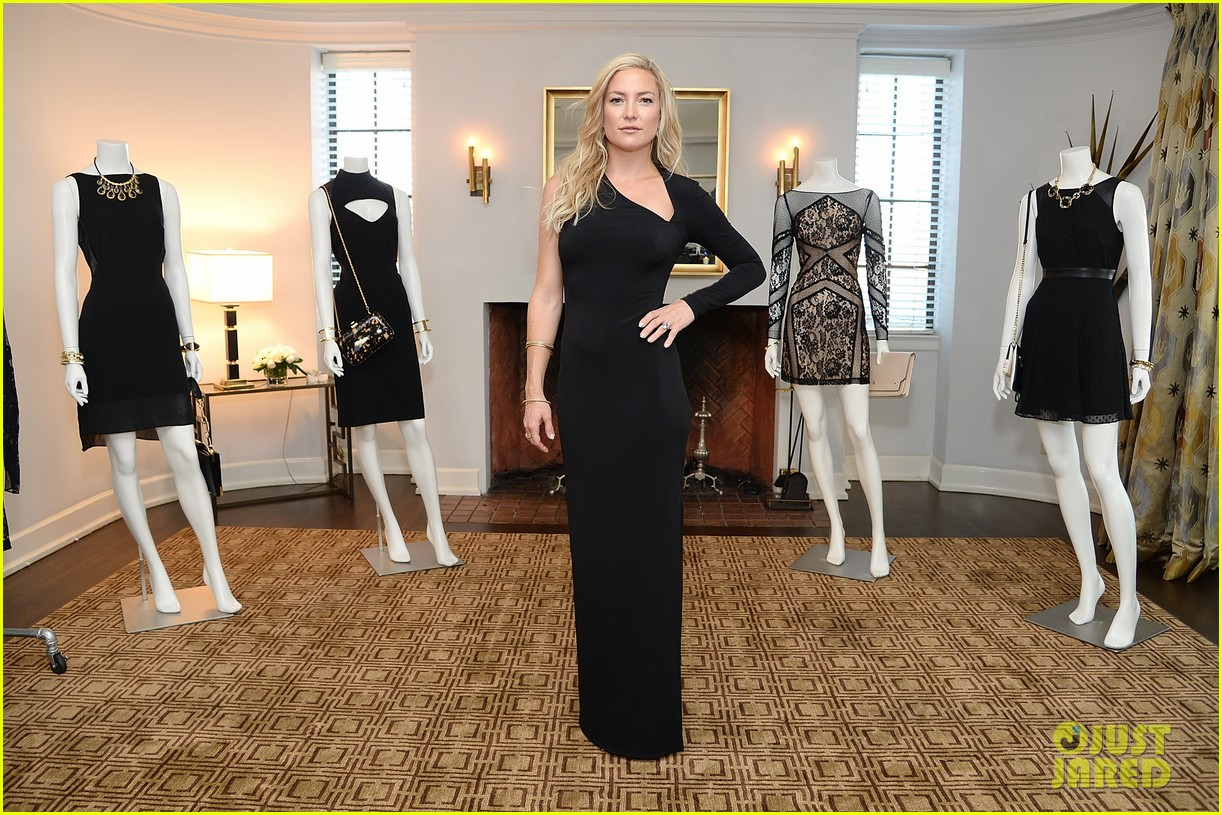 kate hudson sleek chic for anne taylor little black dress collection 173087514