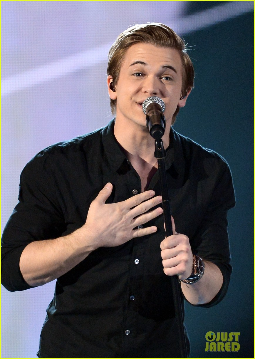hunter hayes invisible acm awards 2014 video 023086023