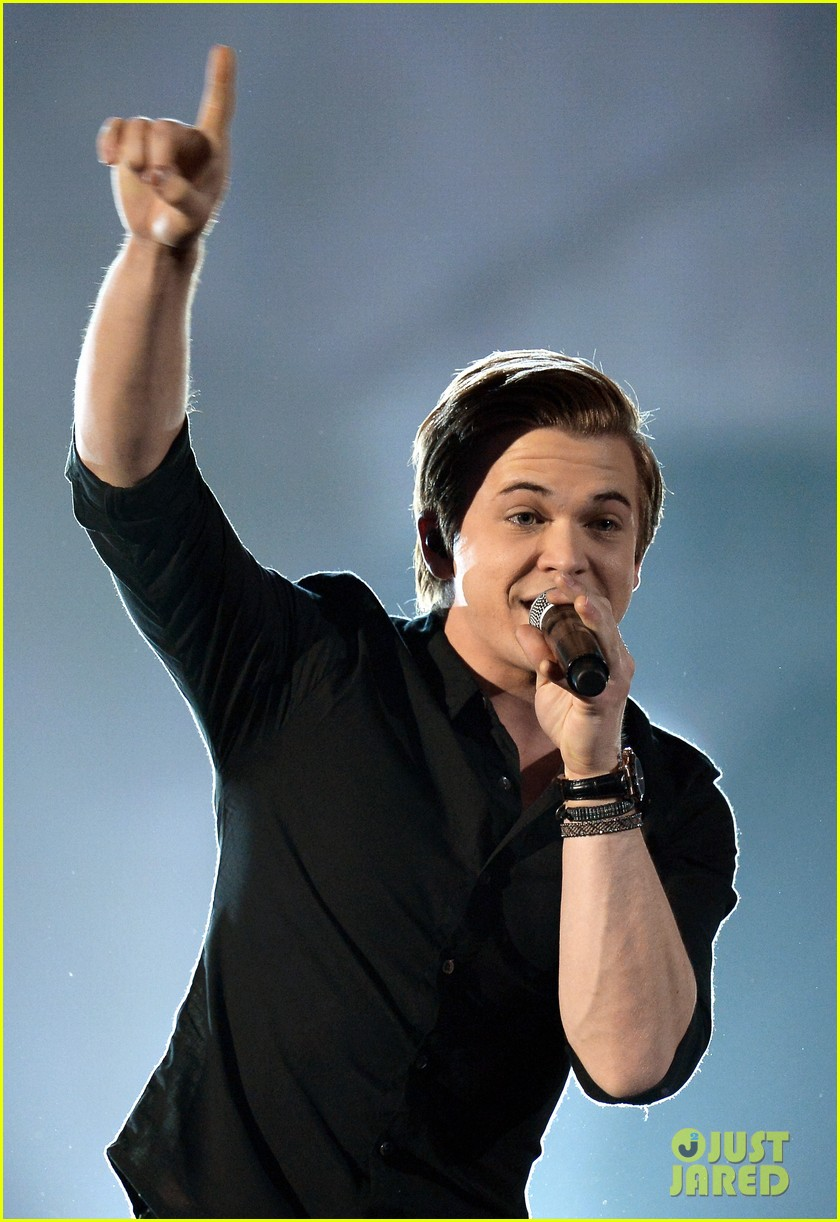 hunter hayes invisible acm awards 2014 video 043086025