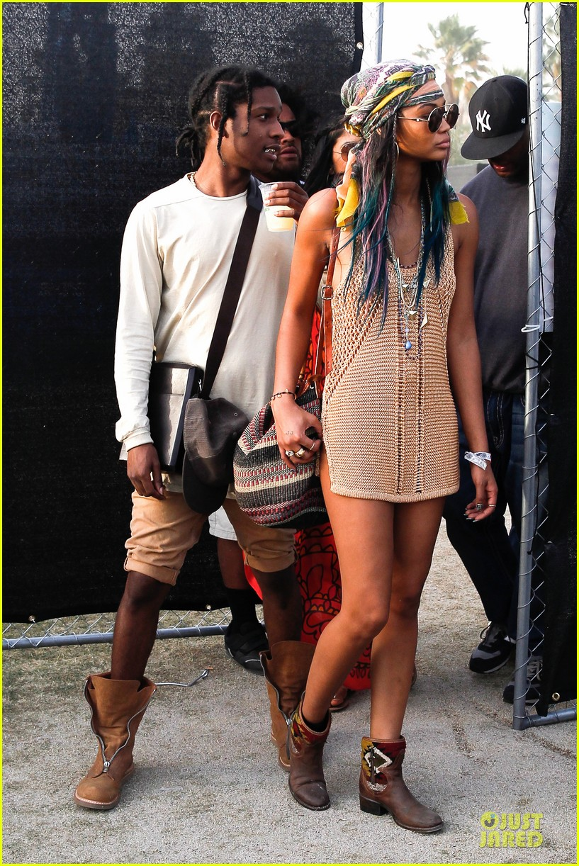 chanel iman asap rocky relaxes at coachella 01